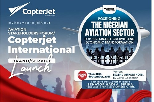 AVIATION EXPERTS: CopterJet Holds Forum to Uncover Industry Challenges and Opportunities