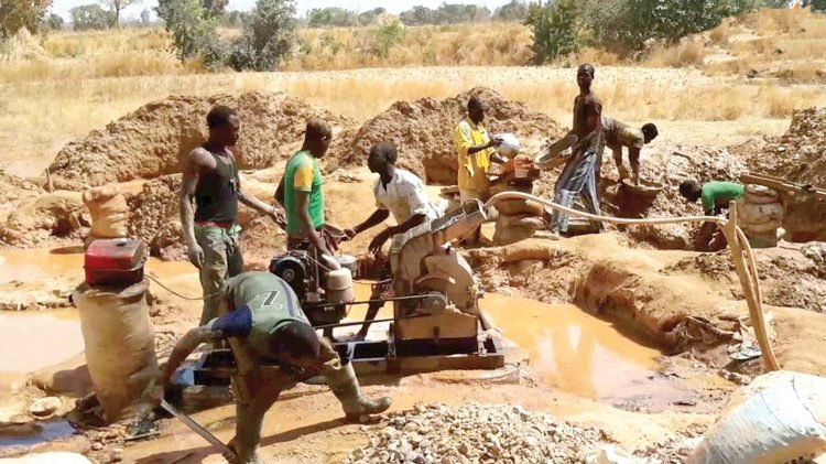 FG Minister Laments on the Use of Private Jets to Aid Illegal Mining