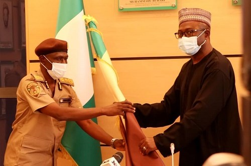 NIS Acting Comptroller General Jere, Pledges to Consolidate on Existing Gains